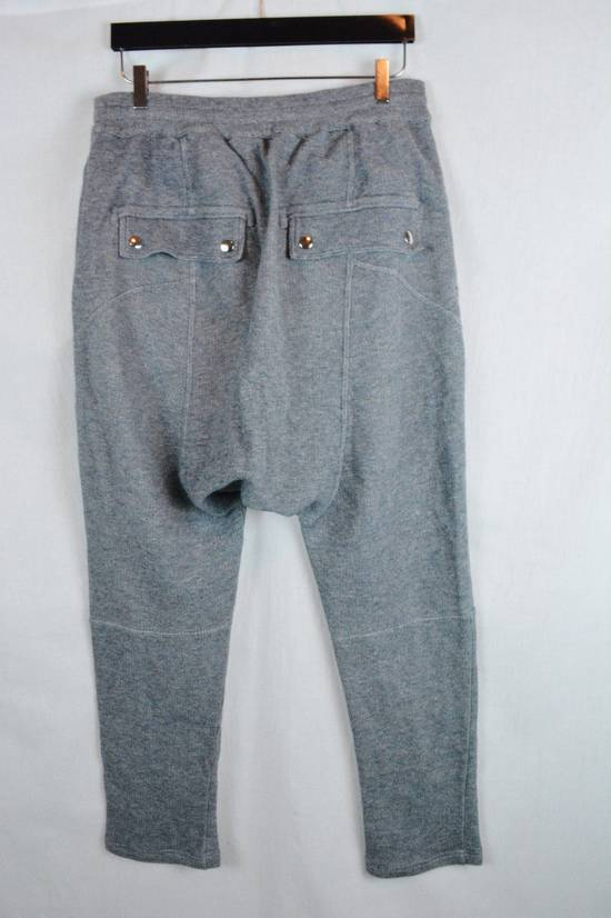 Balmain rey Biker Sweatpants Joggers Pants Drawstring Drop Crotch Medium Size US 32 / EU 48 - 2