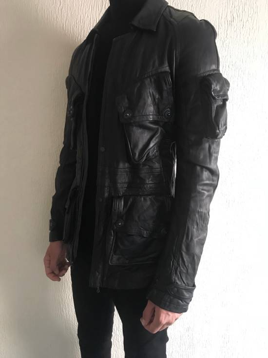 Julius LAST DROP! Julius GASMASK Leather Jacket Size US S / EU 44-46 / 1 - 9
