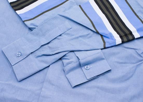 Givenchy Givenchy Mens Denim W/ Stripe Sleeve Button Down Size US XS / EU 42 / 0 - 2