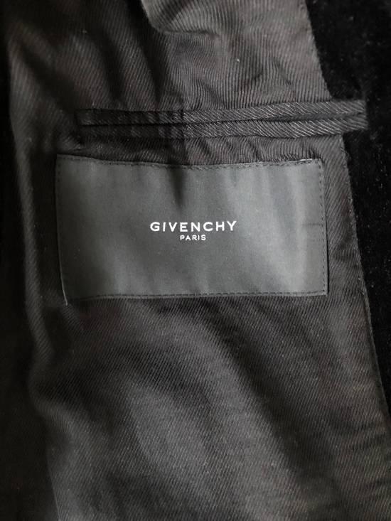 Givenchy Givenchy FW11 Black Velvet Zip Blazer Size 38R - 2