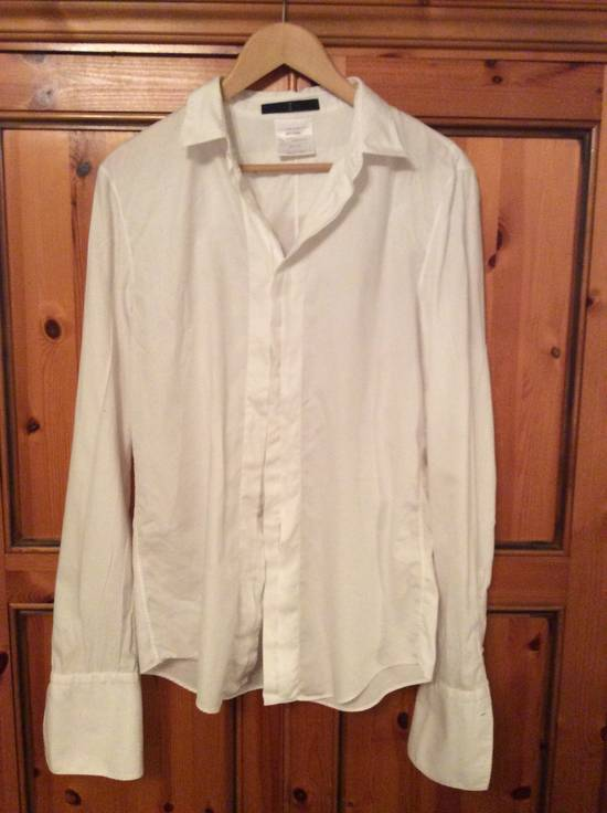Julius 24HR SALE White shirt 07 Size US M / EU 48-50 / 2