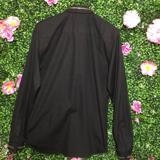 Givenchy Black Zipper Collar/Cuff Dress Shirt Size US XXS / EU 40 - 1