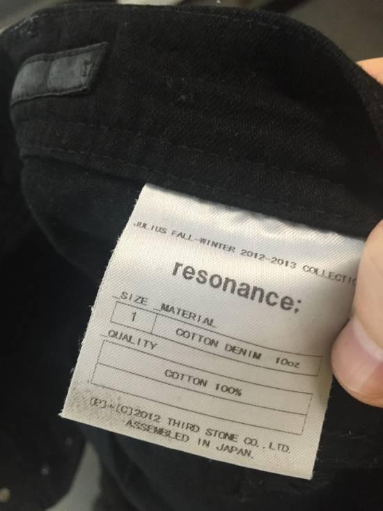 Julius AW12 Resonance Black Cotton Denim Size 1 Size US 30 / EU 46 - 11