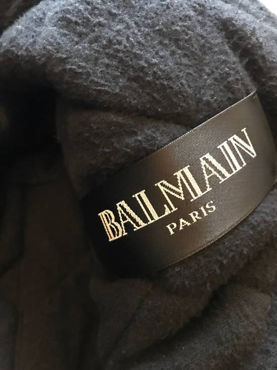 Balmain Leather Parka With Fur With Detachable Jacket And fur Size US M / EU 48-50 / 2 - 10