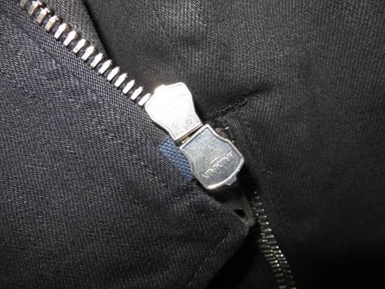 Balmain Waxed denim perfecto biker jacket Size US M / EU 48-50 / 2 - 7