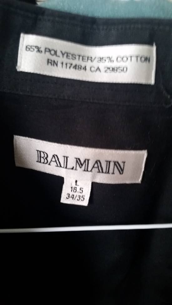 Balmain Black Dress Shirt Size US L / EU 52-54 / 3 - 2
