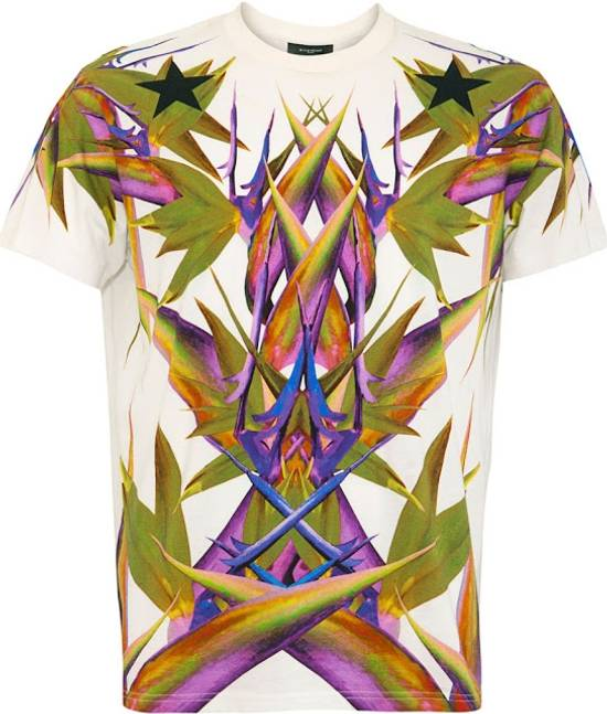Givenchy White Birds of Paradise T-shirt Size US L / EU 52-54 / 3 - 1