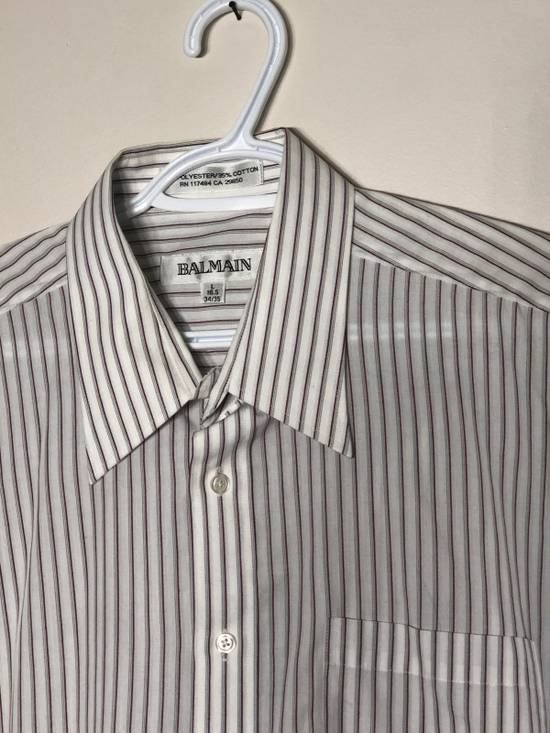 Balmain Long Sleeve Pin Stripe Button up Size US L / EU 52-54 / 3 - 1