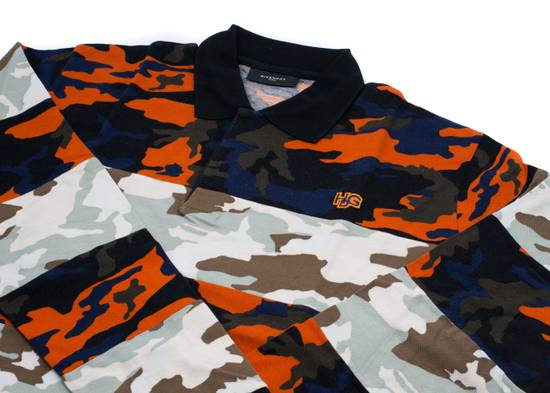 Givenchy Givenchy Men's Two Tone Multi Color Camouflage Polo Shirt Size US L / EU 52-54 / 3 - 2