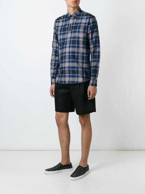 Givenchy Star-print plaid shirt Size US S / EU 44-46 / 1 - 9