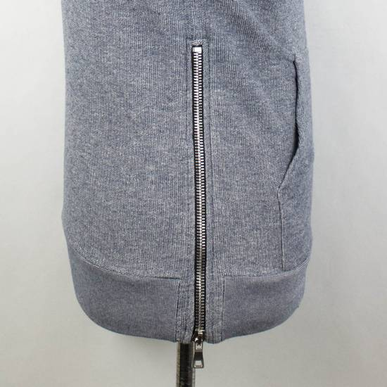 Balmain Men's Gray Cotton Blend Zip-Up Hooded Sweater Size XS Size US XS / EU 42 / 0 - 3