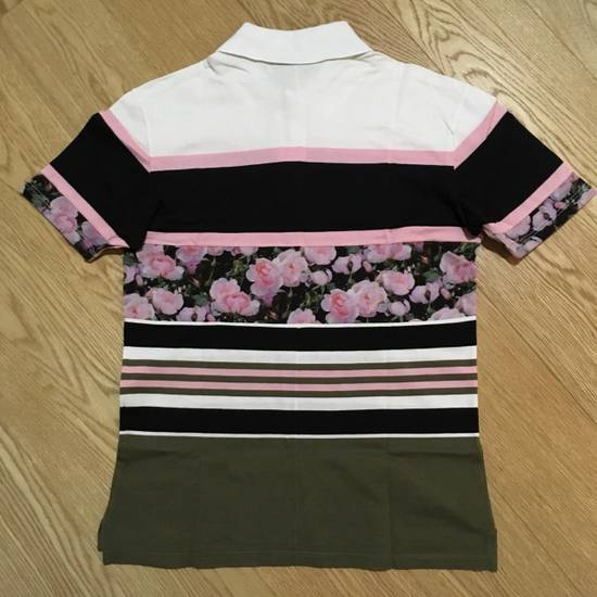 Givenchy GIVENCHY Stripe And Floral Print Polo Shirt Size US S / EU 44-46 / 1 - 2