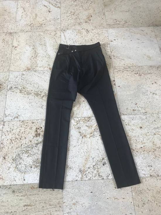 Givenchy Belted & Pleated Casual Suit Pants In Black Size US 28 / EU 44