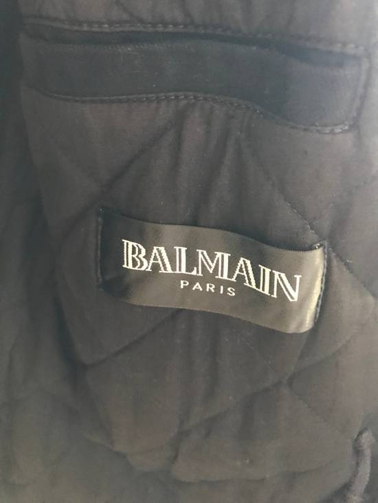 Balmain Decarnin Black Coated Parka Size US M / EU 48-50 / 2 - 9