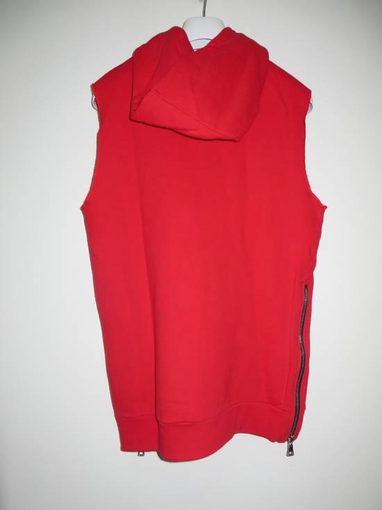 Balmain Sleeveless hoodie with Badge Size US M / EU 48-50 / 2 - 6