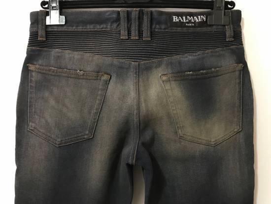 Balmain PRICED TO SELL!! Size 30 Blue Biker Jeans Balmain Size US 30 / EU 46 - 4