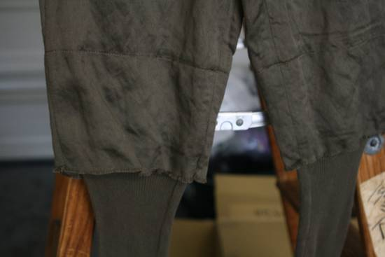 Julius SS07 Cotton-Rayon-Metal 2x Layer Pants Size US 30 / EU 46 - 4