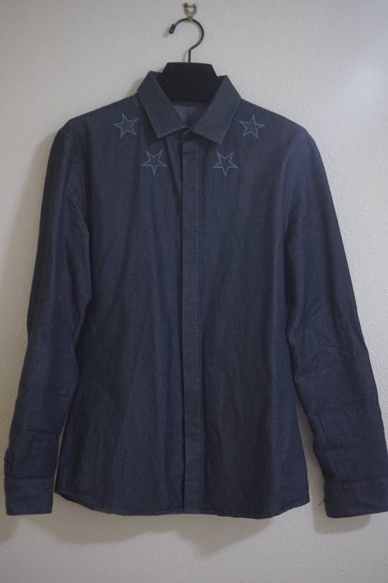 Givenchy Star Embroidered Denim Jacket Size US M / EU 48-50 / 2