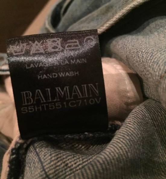 Balmain Balmain Bikers Sand Wash Jeans Size US 28 / EU 44 - 8