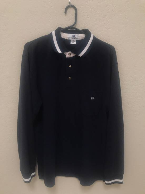 Givenchy *Vintage* Monsieur Givenchy Long Sleeve Polo Size US M / EU 48-50 / 2