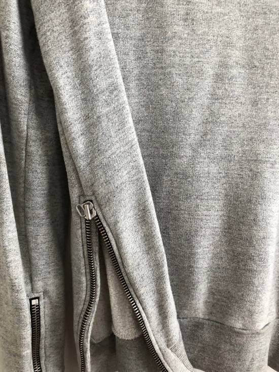 Balmain Zipped hoodie in grey Size US M / EU 48-50 / 2 - 3