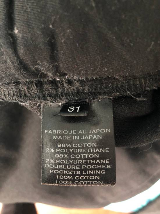 Balmain Black Waxed Bikerjeans Size US 31 - 6