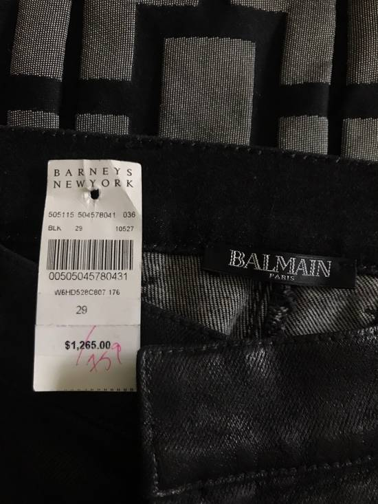 Balmain !Need Gone! Balmain Bikers Waxed Fits 29-31 Size US 29 - 9