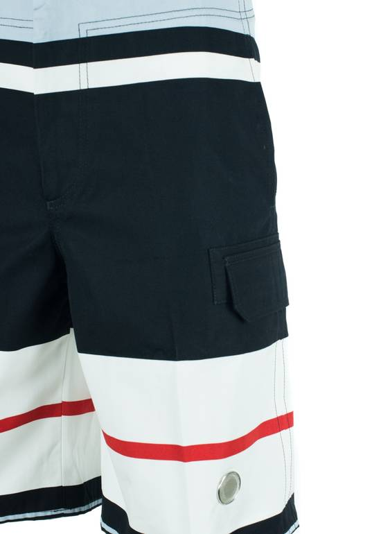 Givenchy Givenchy Men's Cotton Multi Color Striped Board Shorts Size US 32 / EU 48 - 1