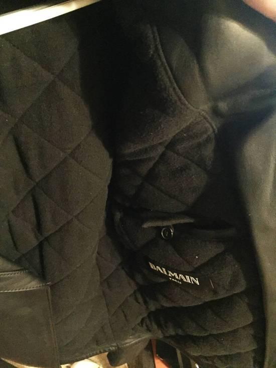 Balmain Balmain Leather biker jacket Size US S / EU 44-46 / 1 - 5