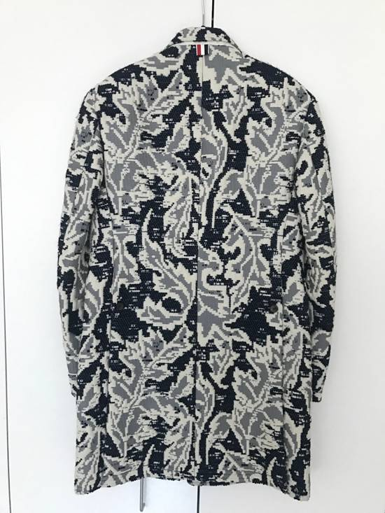 Thom Browne Embroidered Top Coat Size US XS / EU 42 / 0 - 1
