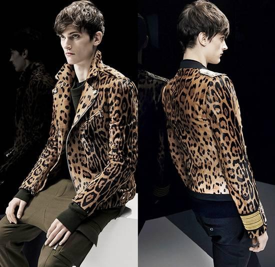 Balmain Balmain leater biker leopard jacket BNWT size 46 Size US S / EU 44-46 / 1