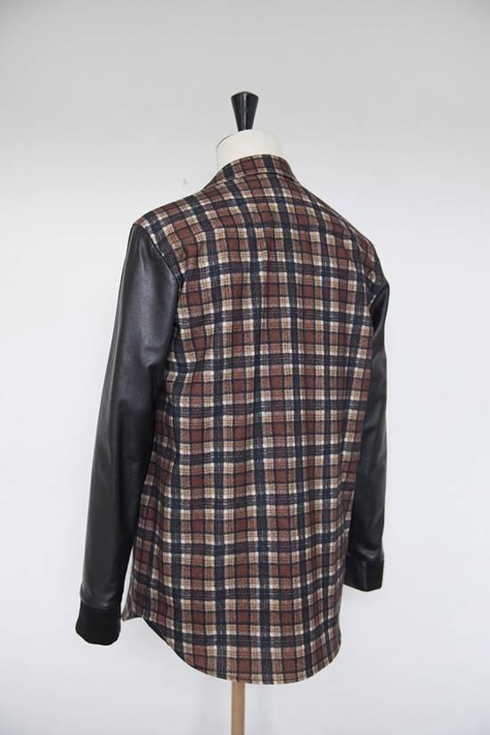 Givenchy AW11 leather plaid shirt Size US S / EU 44-46 / 1 - 2