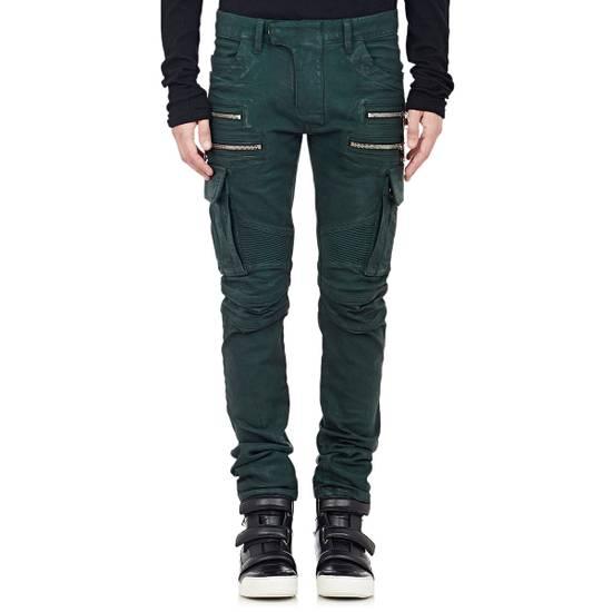 Balmain Balmain Cargo Moto Skinny Jeans Size US 28 / EU 44