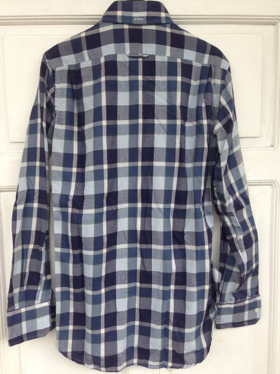 Thom Browne THOM BROWNE Blue Plaid Buttondown Size US S / EU 44-46 / 1 - 5