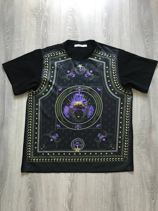 Givenchy Givenchy by Riccardo Tisci iris, black panther & stars tshirt Size US M / EU 48-50 / 2 - 1