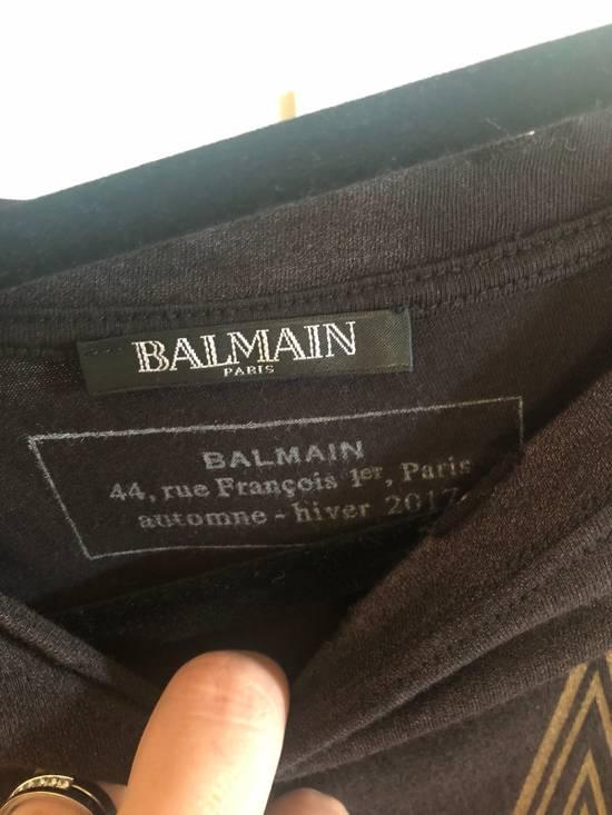 Balmain Oversized Acid Wash T Shirt Size US L / EU 52-54 / 3 - 1