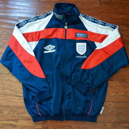 Umbro Vintage 90s Umbro England Track Jacket Size US L / EU 52-54 / 3