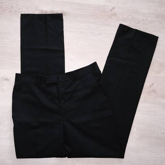 Vintage GIANNI VERSACE Couture pre 1993 Year Vintage Black Wool Pants 52 IT Rare Designer Luxury Made In Italy Casual trousers 1990's 2pac Notorious Russian Mafia Size US 36 / EU 52 - 1