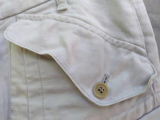 Julius Gas Mask Cargo Shorts White Bamboo Twill ss12 Size US 30 / EU 46 - 3