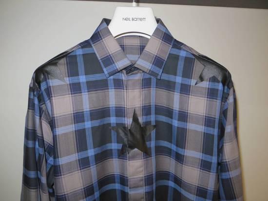 Givenchy Star-print plaid shirt Size US S / EU 44-46 / 1 - 1