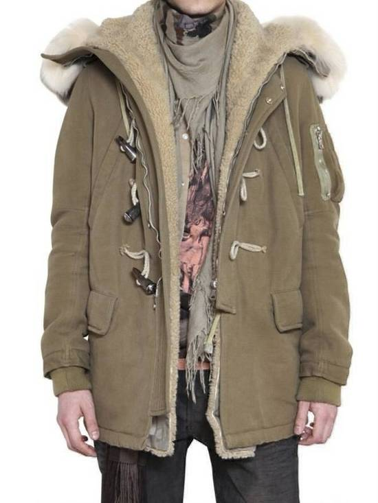 Balmain Fall 2011 Decarnin Fur Parka Size US L / EU 52-54 / 3 - 7