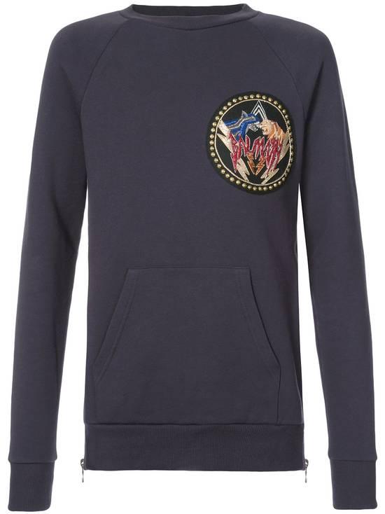 Balmain logo patch sweatshirt Size US S / EU 44-46 / 1