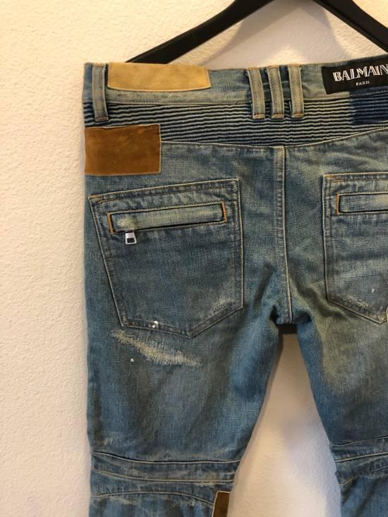 Balmain Patchwork Jeans Size US 30 / EU 46 - 14