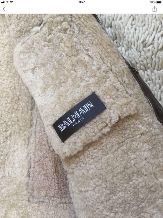 Balmain Balmain Shearling Lined Aviator Jacket Size US M / EU 48-50 / 2 - 10