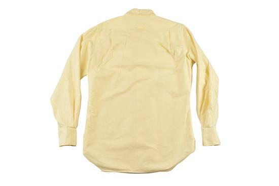 Thom Browne White Grossgrain, Yellow Stripe Oxford Size US L / EU 52-54 / 3 - 8