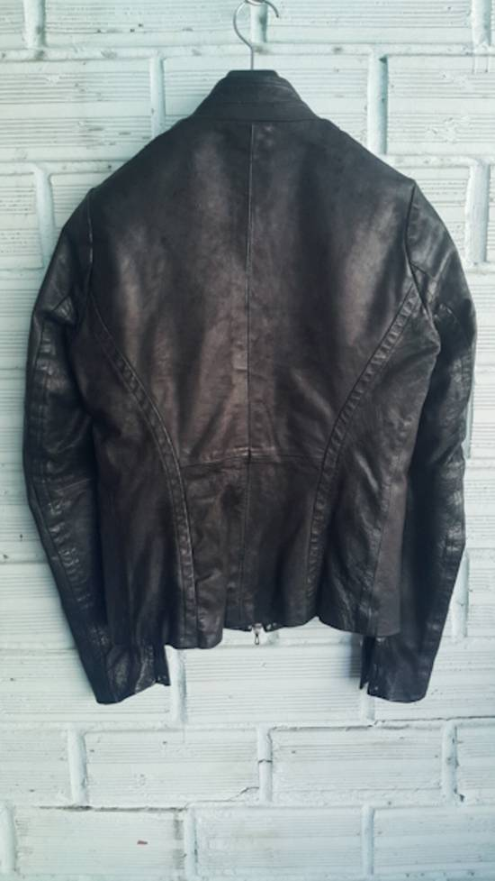 Julius Black Calfskin Jacket SS12 Size US S / EU 44-46 / 1 - 2