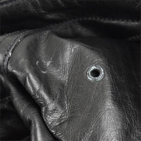 Givenchy Final price AW10 oversized hood leather jacket Size US S / EU 44-46 / 1 - 7