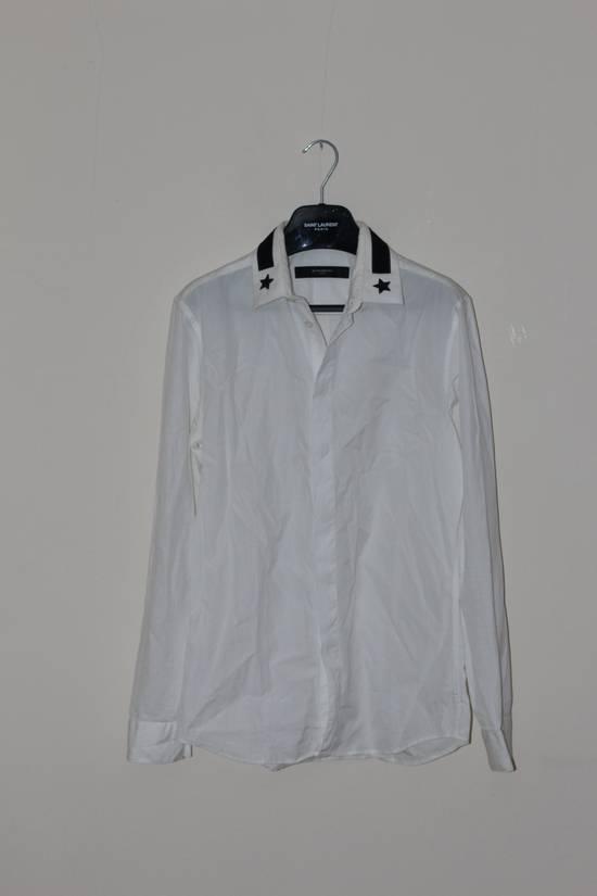 Givenchy Star White Shirt Size US M / EU 48-50 / 2