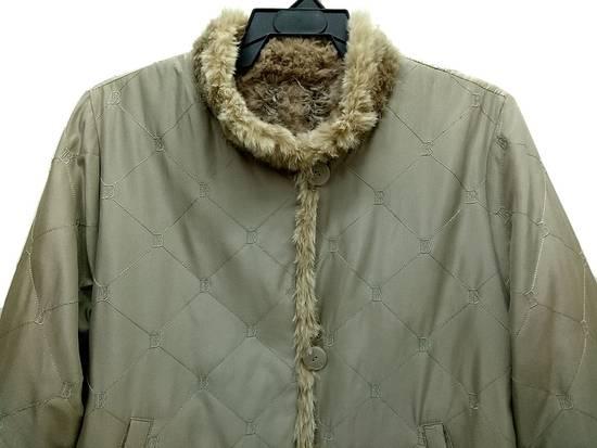 Balmain 🔥FINALDROP♨Reversible Balmain Paris Fur and Silk Jacket RARE Design Size US L / EU 52-54 / 3 - 7