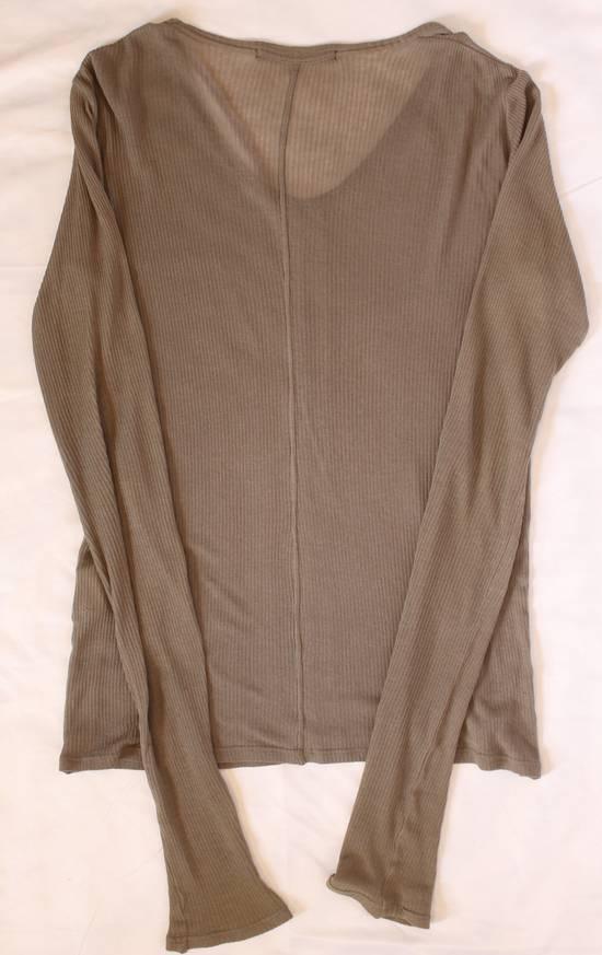 Julius SS09 Silk Blend Ribbed V-neck Sweater Size US S / EU 44-46 / 1 - 1